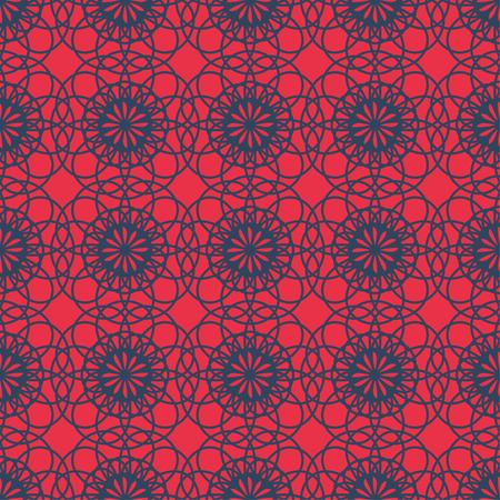 contrast: Abstract vintage contrast wallpaper pattern seamless background. Vector illustration Illustration