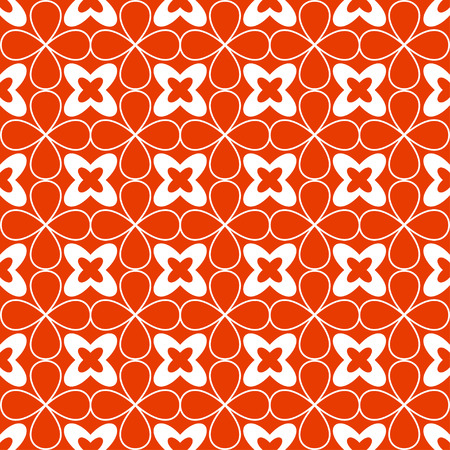Ornamental seamless pattern. Vector floral background. Vector