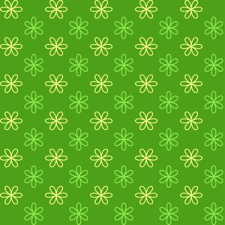 Seamless pattern.Endless texture can be used for printing onto fabric and paper or invitation. Simple flower shape. Vector