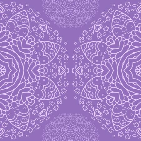 realización: Medio modelo ornamental de encaje redondo c�rculo ganchillo dise�os arabescos de encaje encaje hecho a mano. Oriental motif ornamento tradicional en la realizaci�n moderna Vectores