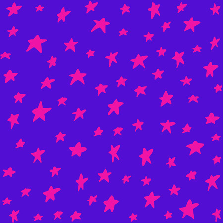 Seamless pattern with night sky Vector