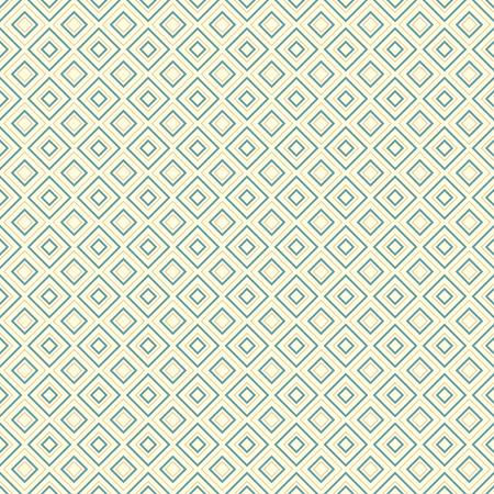 diamond shape: Abstract geometric diamond shape seamless pattern vector