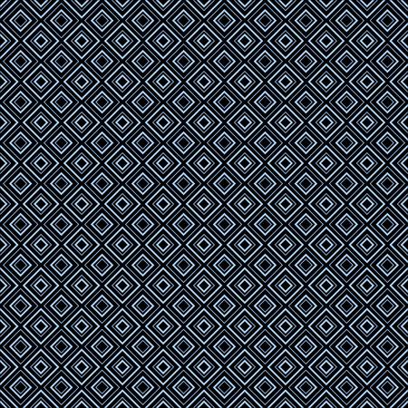 Abstract geometric diamond shape seamless pattern vector