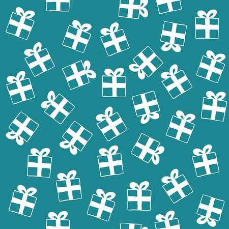 Vector Seamless Gift Pattern