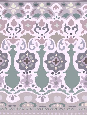 stripe pattern: Ethnic motivo a strisce senza soluzione di continuit�. Illustrazione vettoriale per il vostro disegno cute. Bordi e cornici