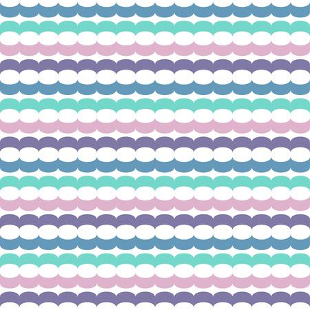 horizontal: Seamless pattern with horizontal chains Illustration