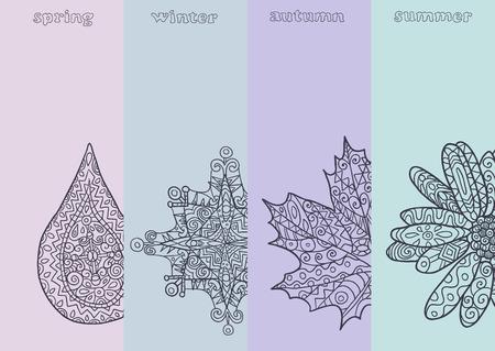 estaciones del a�o: cuatro temporadas