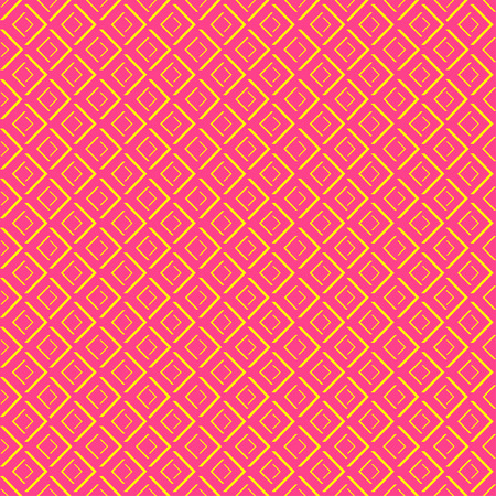 diamond shape: Abstract geometric diamond shape seamless pattern Illustration