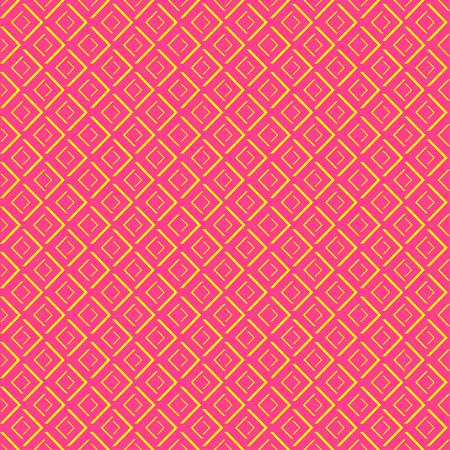 Abstract geometric diamond shape seamless pattern Illustration