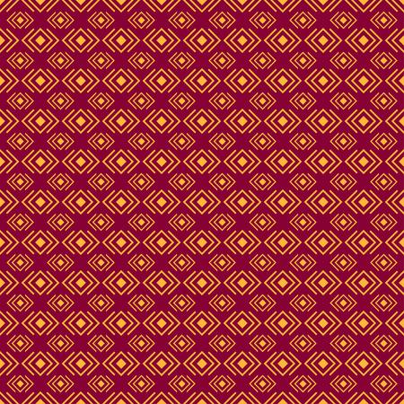 diamond shape: Geometric diamond shape seamless pattern, vector