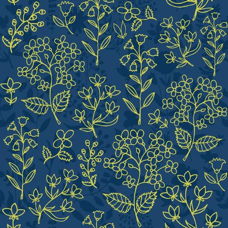 dattelpalme: Floral seamless pattern.Seamless Muster f�r Tapeten verwendet werden, Muster f�llt, Web-Seite Hintergrund, Oberfl�chenstrukturen.