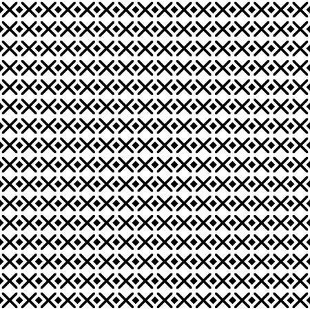 Monochrome geometric ornament. Vector seamless pattern. Endless texture can be used for printing onto fabric, paper or scrap booking, wallpaper, pattern fills, web page background, surface texture.