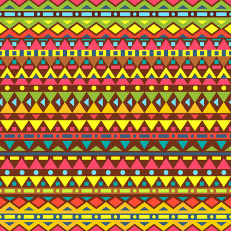 red rug: Tribal vector seamless pattern. Seamless pattern can be used for wallpaper, pattern fills, web page background, surface textures. seamless background Illustration