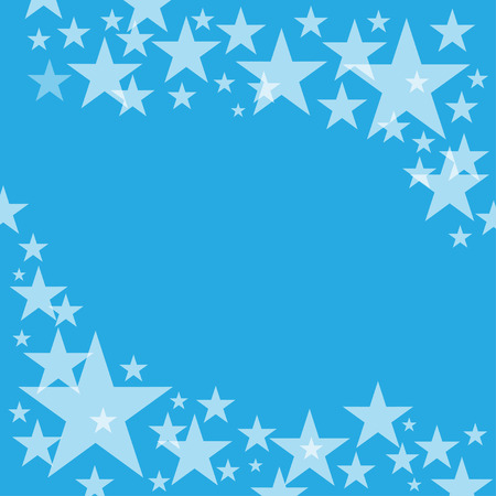 holiday celebrations: Elegant background with stars and place for text. Vector Illustration.