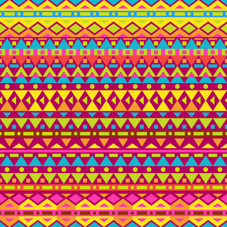 yellow adventure: Tribal vector seamless pattern. Seamless pattern can be used for wallpaper, pattern fills, web page background, surface textures. seamless background Illustration