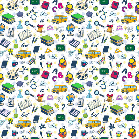 Back to School. Textures for wallpaper, fills, web page background.