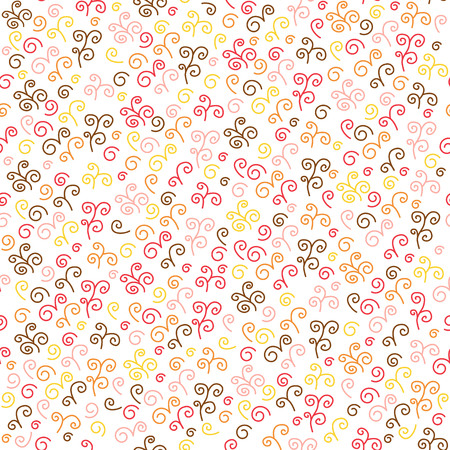 mishmash: Seamless pattern with swirl. Texture for wallpaper, fills, web page background.