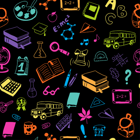 Zurück zur Schule. Texturen für den Hintergrund, füllt, Web-Seite Hintergrund. Standard-Bild - 84119395