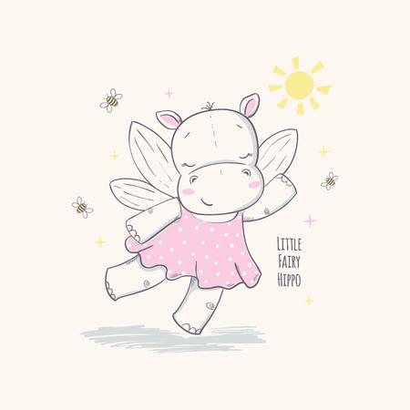 Little fairy hippo.