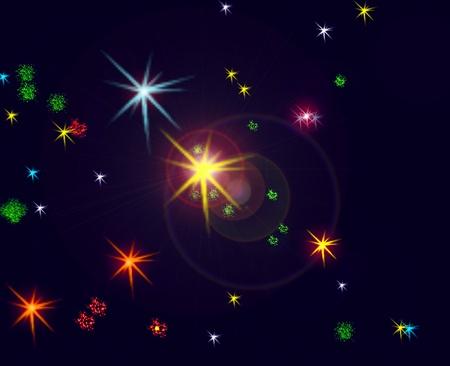 Constellation cygnus, the swan photo