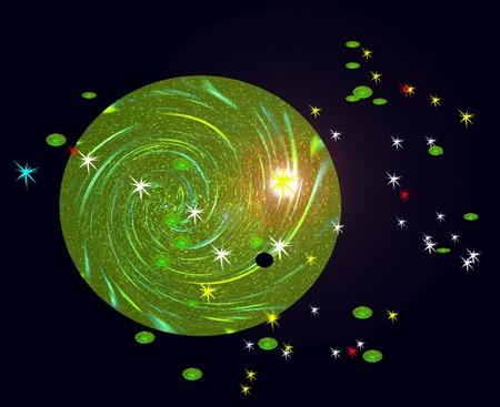 La constelación Osa Mayor