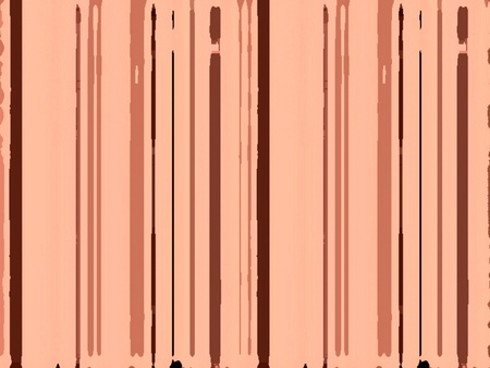 Textura de rayas de fondo roto marrón y rosa surrealista