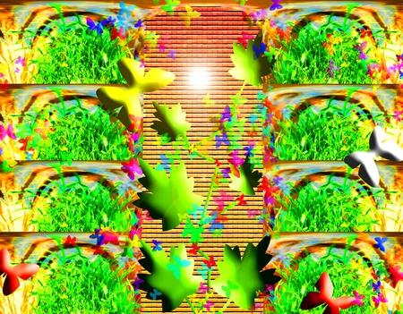 Fantasía jardín