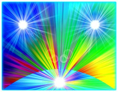 Tres supernovas. Surrealismo