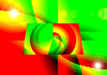 Geometría Rectángulo abstracción Surrealismo Foto de archivo