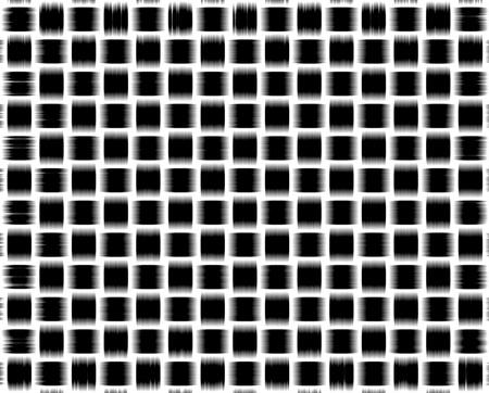 Trenzado de fondo blanco y negro, patrón de la imagen negativa de textura