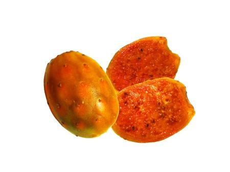 Opuntia ficus-indica frutas Atún Foto de archivo