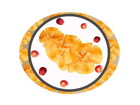 La toronja y el juego de geometría de uva Foto de archivo