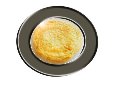 Huevo cocido tortilla