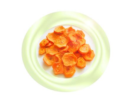 Sweeties carot horneados. Composición.