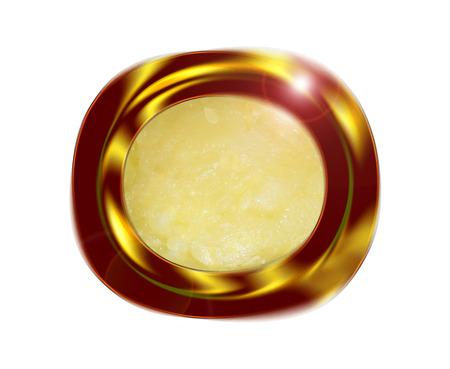 Puré de calabacín. Composición. Foto de archivo