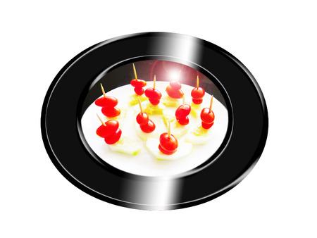 Mordedura de la ensalada. Composición. Foto de archivo - 34484706