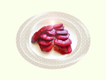 Baked beetroot. Composition