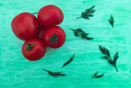 Tomatoes. red ripe tomatoes on white background. 스톡 콘텐츠