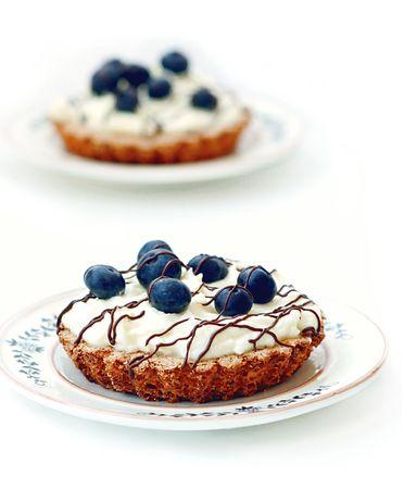 Berry cake Stock Photo