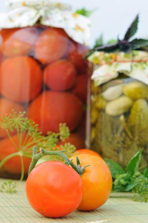 tomato (background) photo