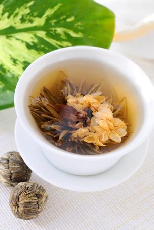 Tied green tea Stock Photo - 8946222