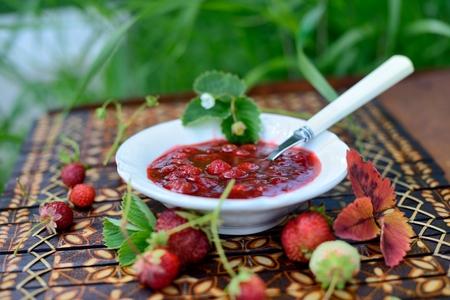 strawberry jam: Strawberry jam