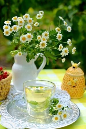 Filiżanka herbaty rumiankowej