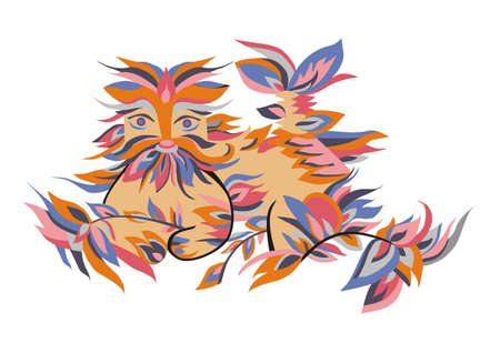 color fabulous animal
