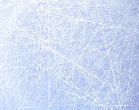 Texturen blauw ijs. Ijsbaan. Winter achtergrond. Bovenaanzicht. Vector illustratie natuur achtergrond.