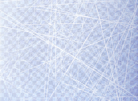 Textures blue ice. Ice rink. Overhead view. Nature surface. Isolated on transparent background. Winter background. Vector illustration, eps 10
