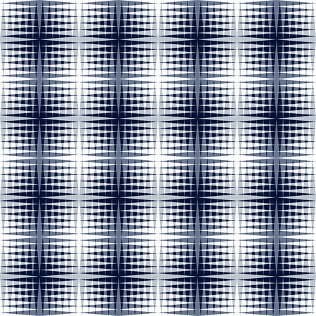 moire: Vector seamless geometric pattern with the effect of an optical illusion. Black and white illustration.