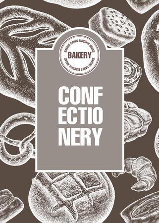 Bakery poster. Vector illustration