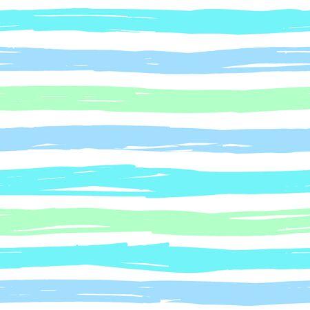 STRIPED SEAMLESS PATTERN hand-drawn irregular stripes pastel shades