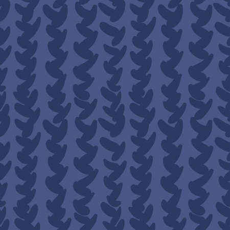dark blue knitted geometric seamless pattern that simulates a knitted sweater